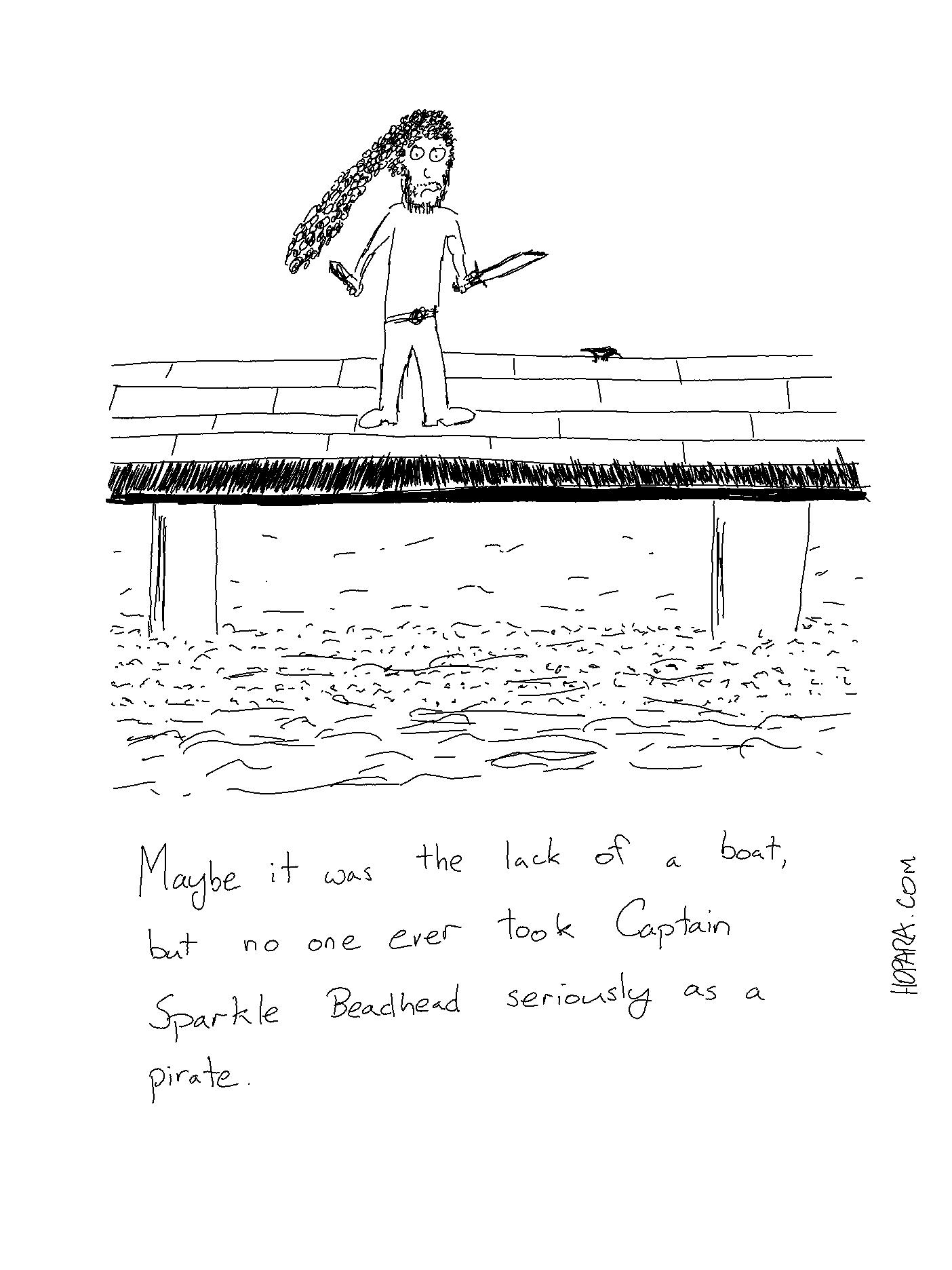 captain sparkle beadhead