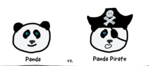 Panda vs. Panda Pirates